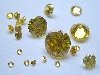 Round Brilliant Citrines